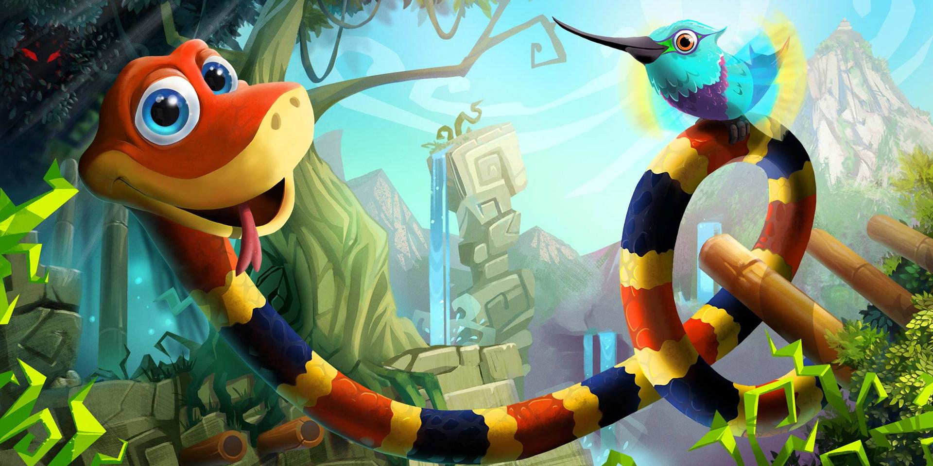 ヘビをあやつる 3D プラットフォーマー Snake Pass