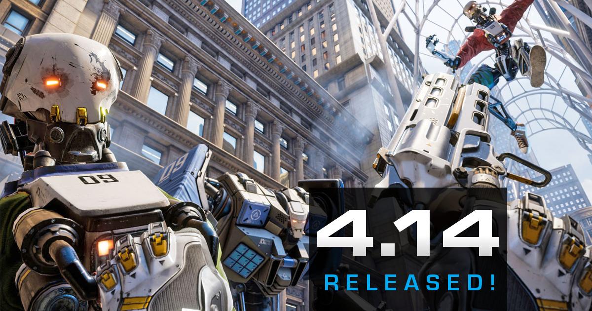 アンリアル エンジン 4 14 がリリースされました!