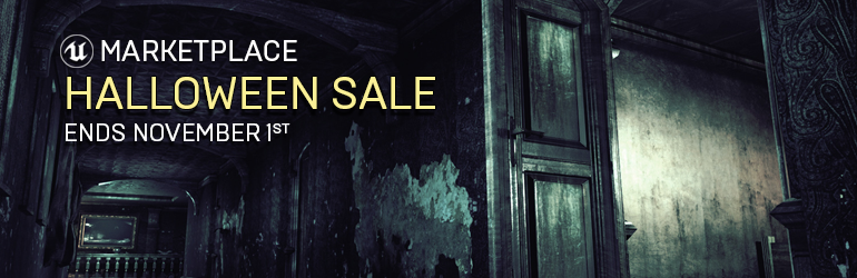 UE Marketplace Halloween Sale Announced