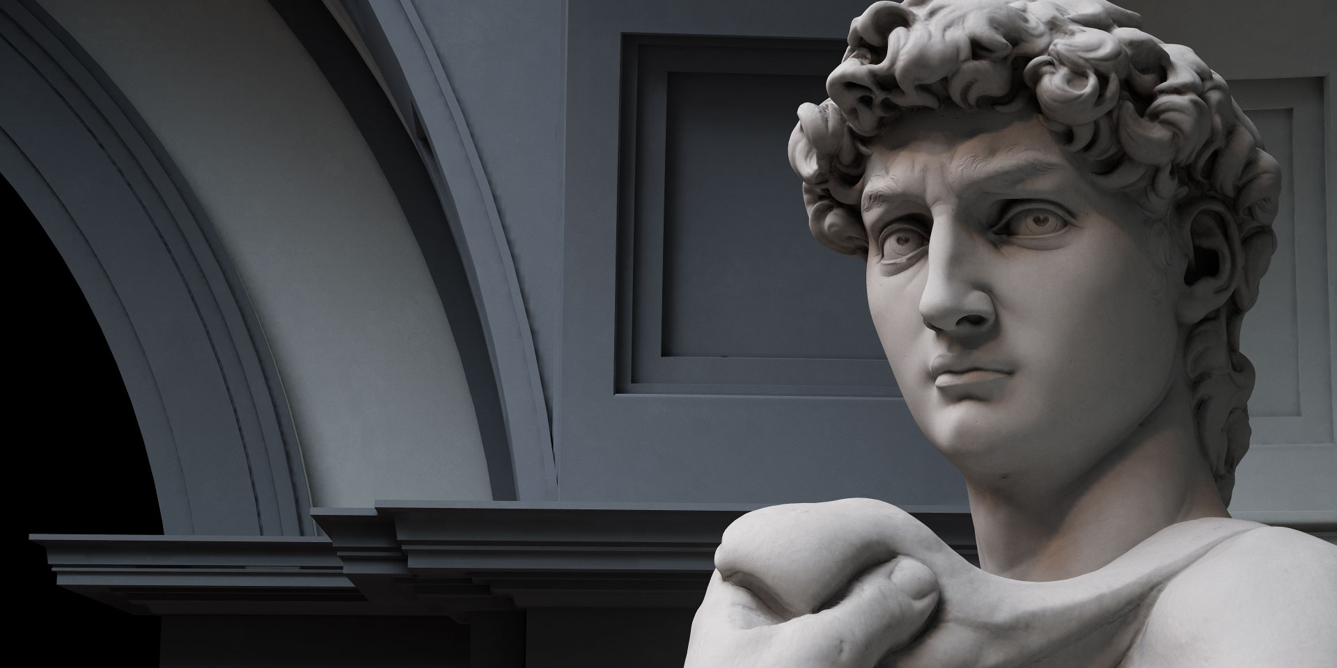 Michelangelo's David in VR