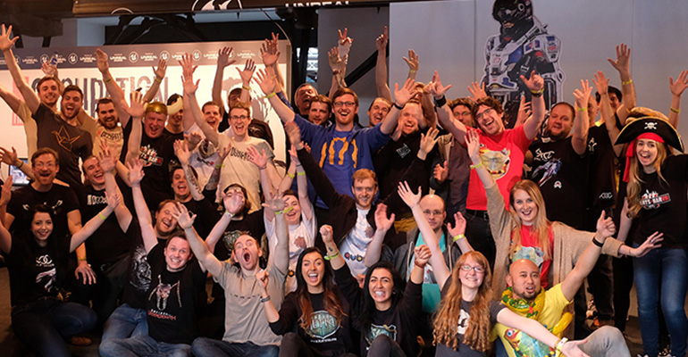Rezzed 2017 Team Photo