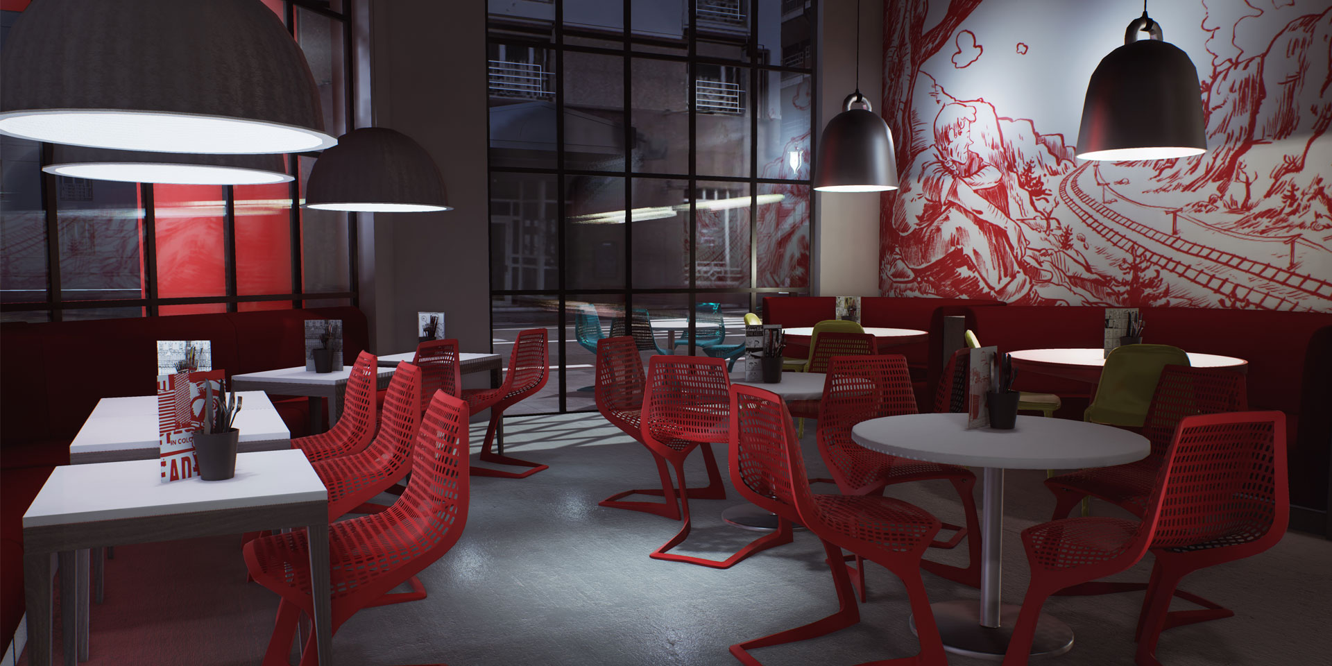 Soluis Group & Carlson Rezidor Hotel Group - Building RED in UE4