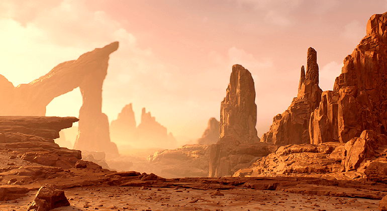 Environments: Wasteland Rocks Rock by Eudes