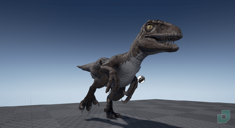 Characters & Animations: Velociraptor by Dokyo