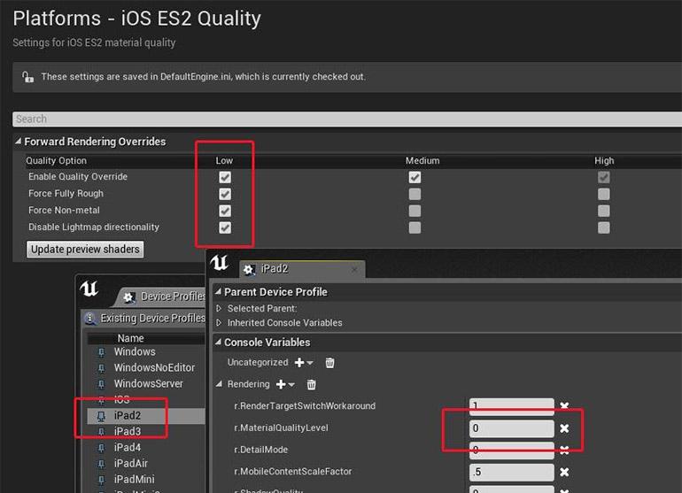 iOS ES2 Setup