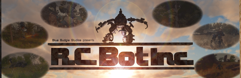 Take on toys in the great, physics-y outdoors of R.C. Bot Inc.