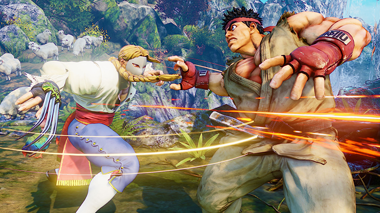 Street Fighter is punching with Unreal Engine 4
