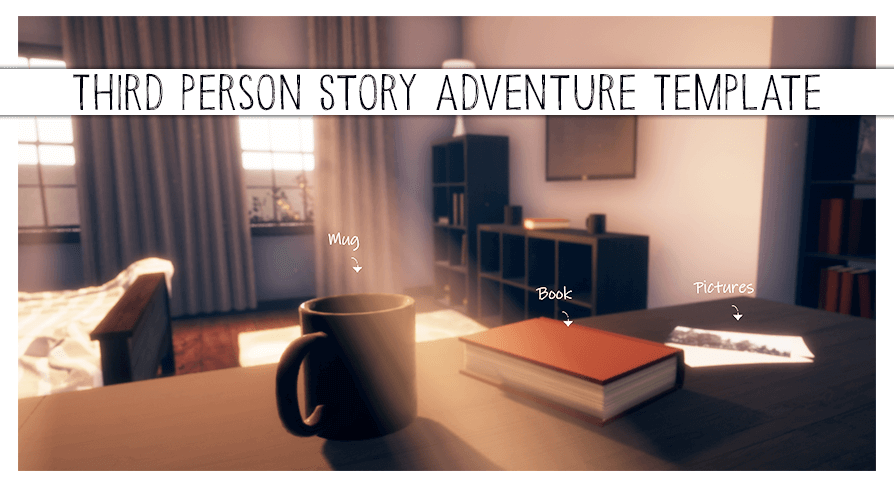 Body Free Marketplace June 2021 Third Person Story Adventure Template