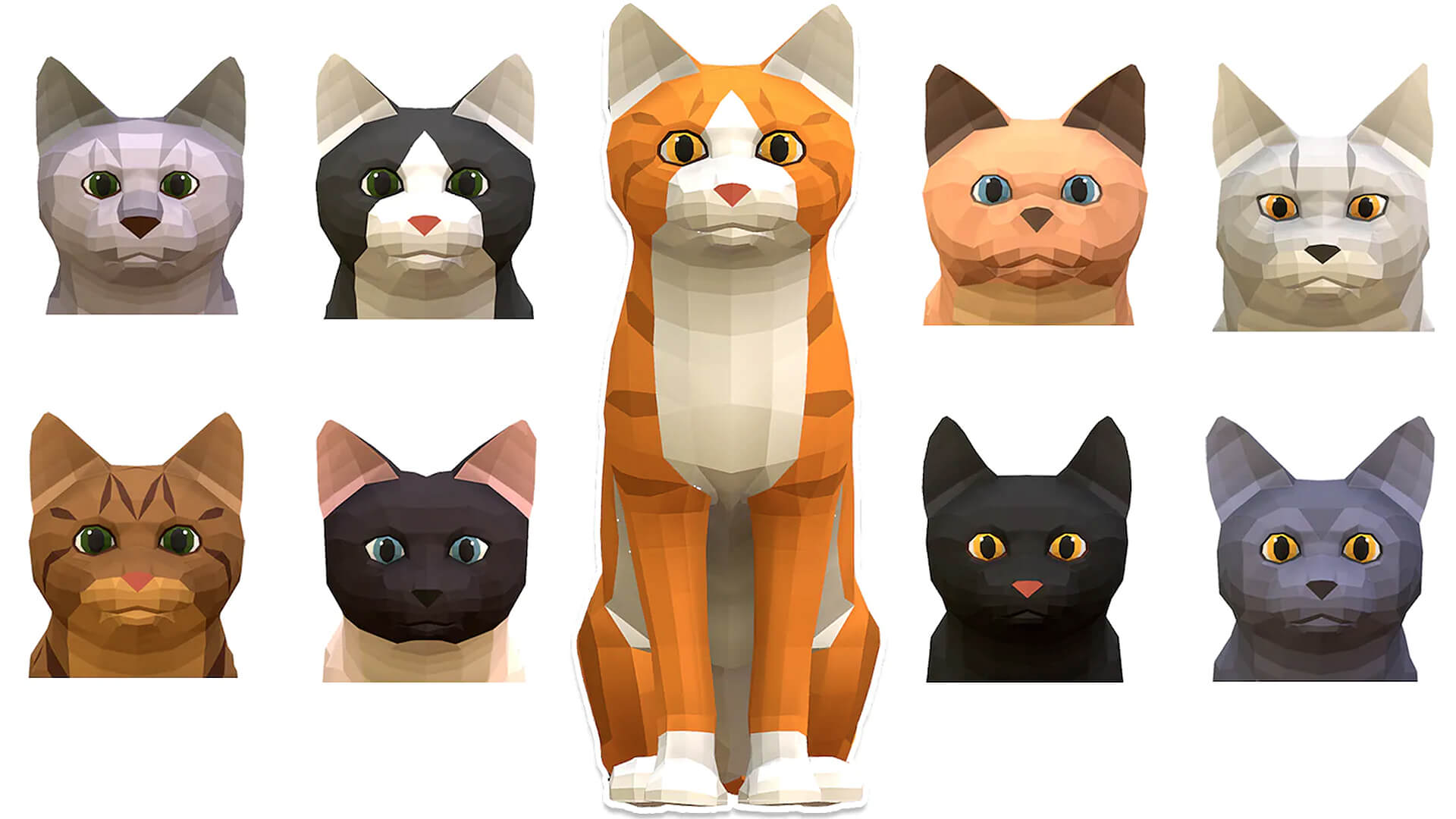 Body Low Poly Cats Free Marketplace April 2021