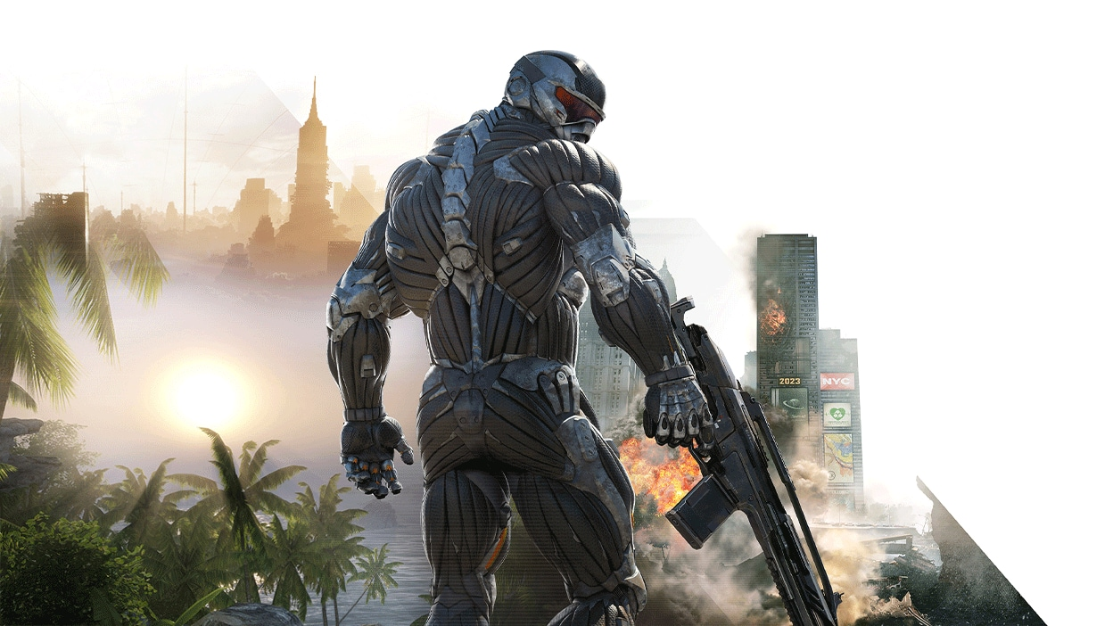 Play the Crysis Remastered Trilogy on Epic Games Store