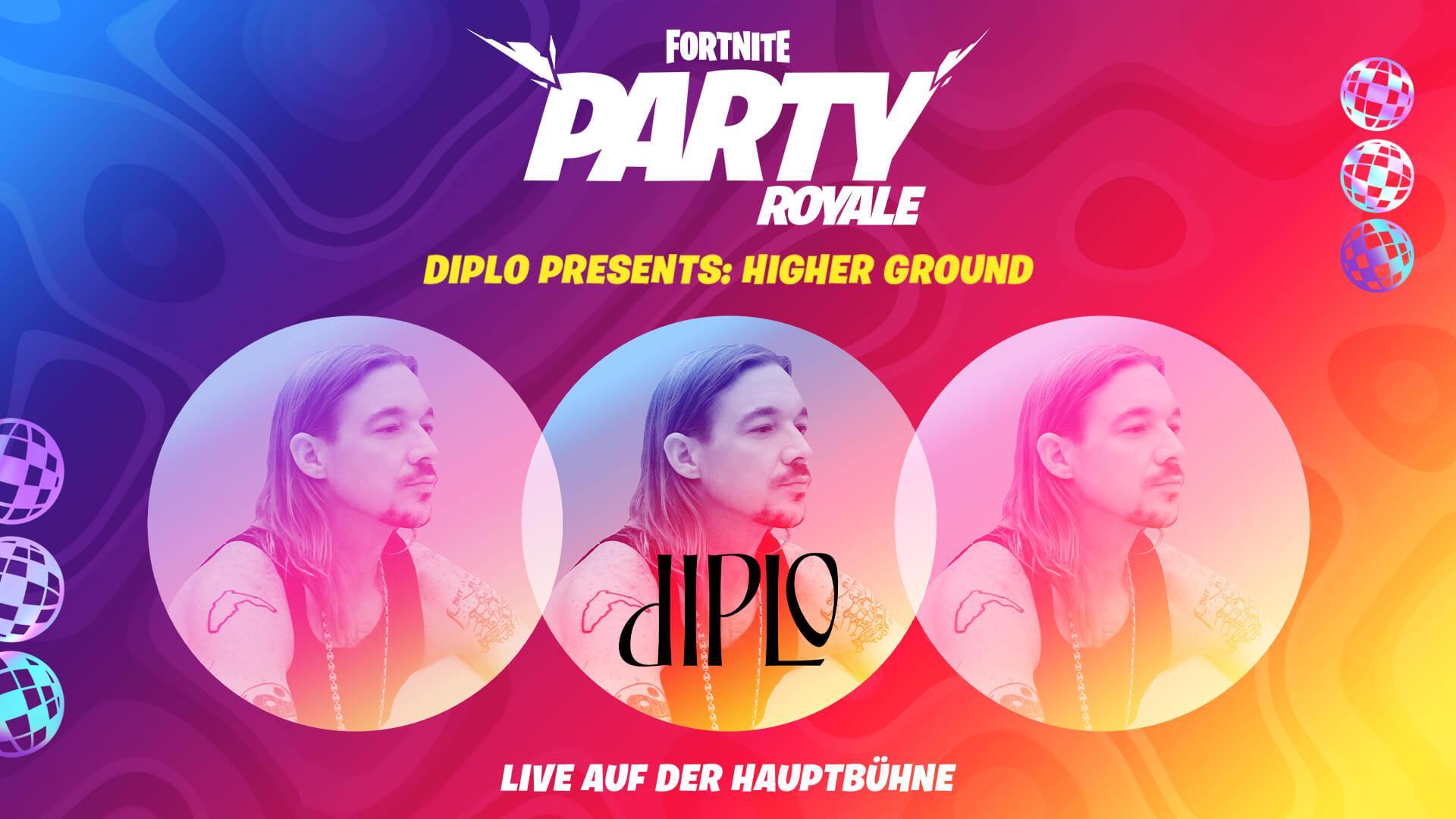 DE 13PR Diplo HigherGround Announce Social