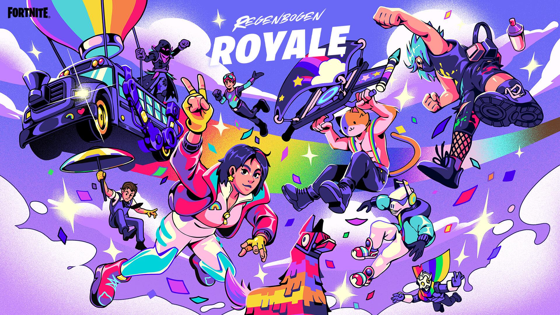 DE 17BR RainbowRoyale KeyArt Social