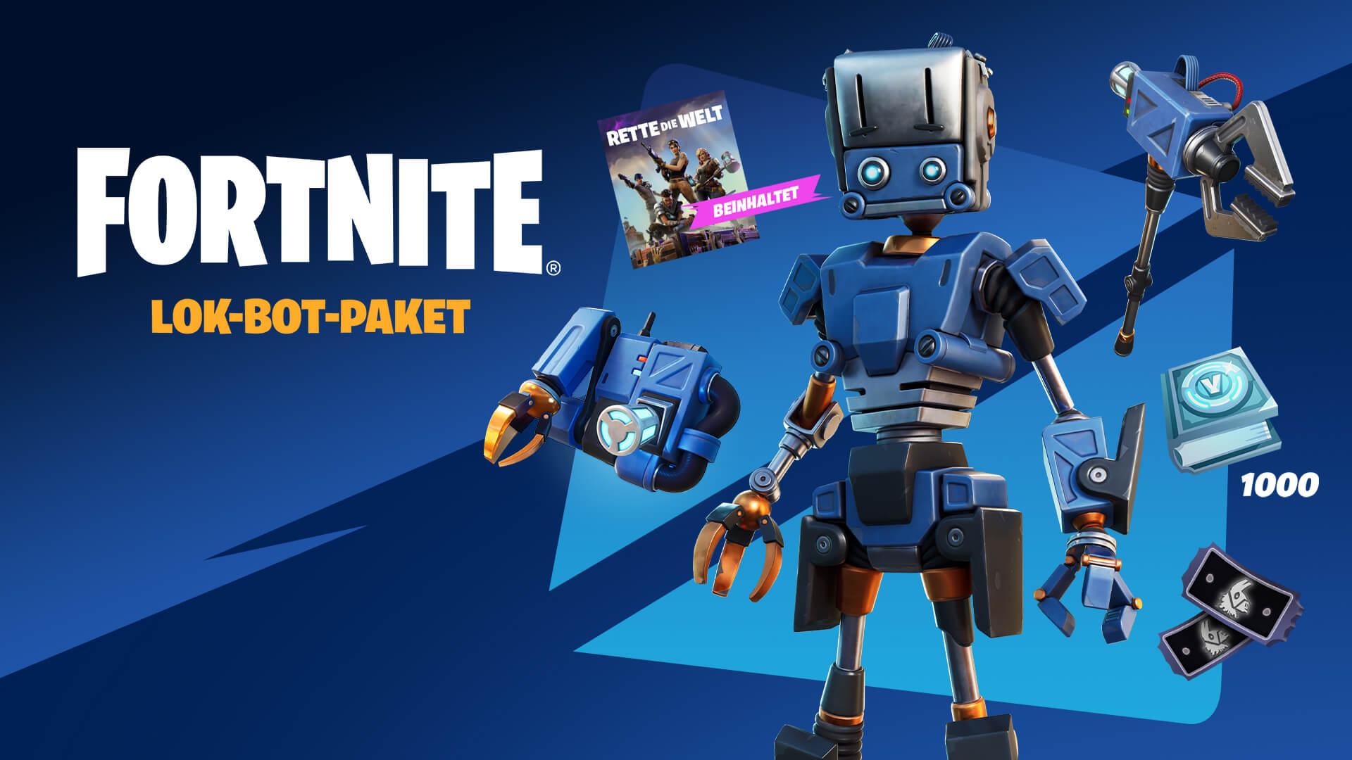 De Fortnite Save The World Lok Bot Pack