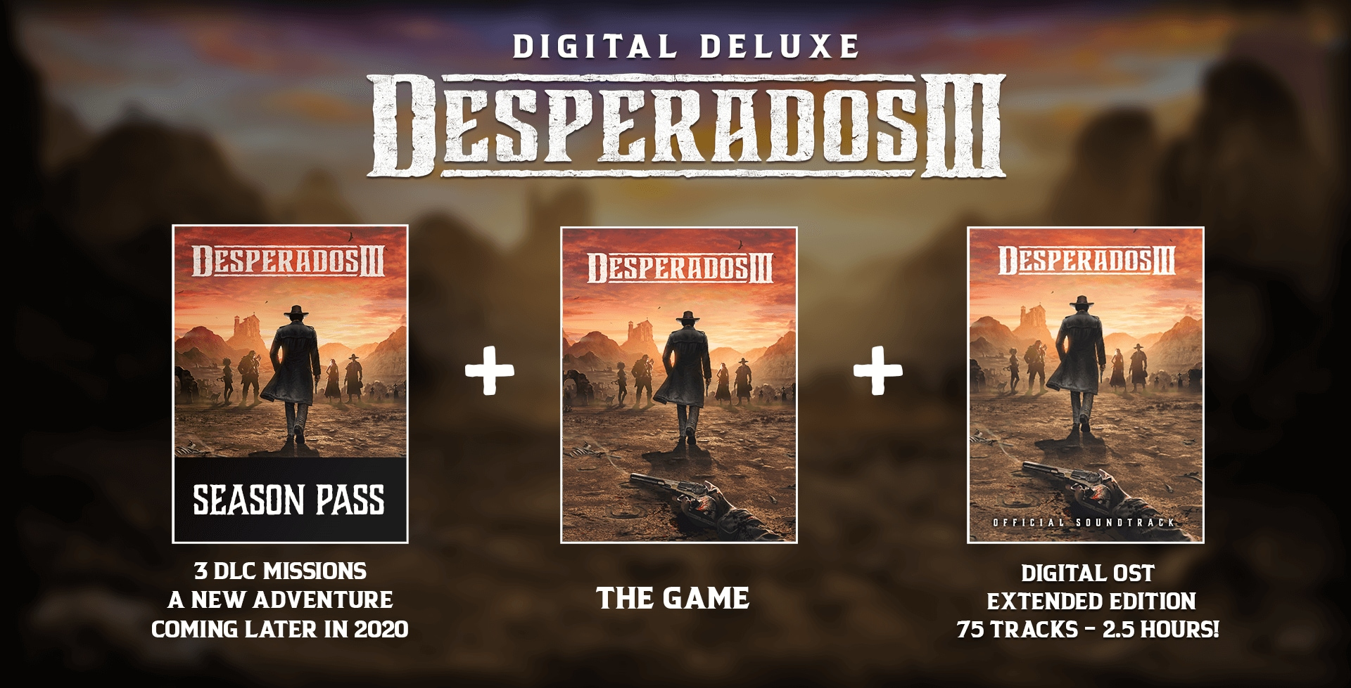 Desperados 3 Desperados Iii Edition Digital Deluxe