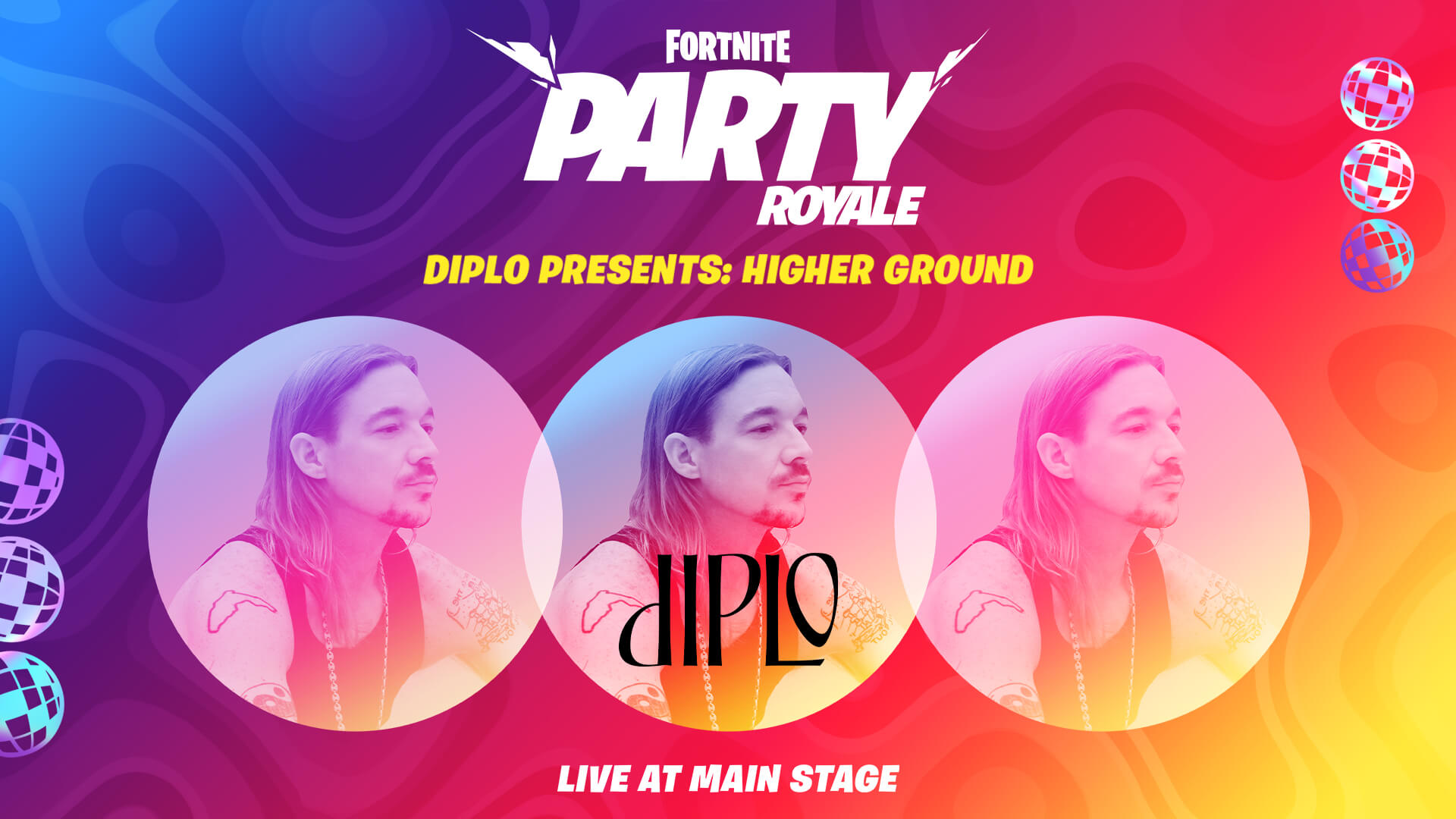 Diplo Presents Higher Ground In Fortnite