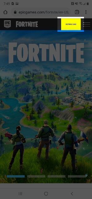 Download Fortnite For Android 298x640 1606937499410