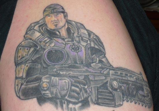 Now That\'s Dedication: Gears of War Fan Tattoos | Epic Games Community