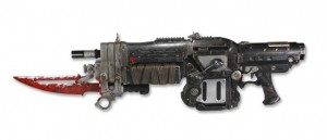 Gears of War 3 Retro Lancer