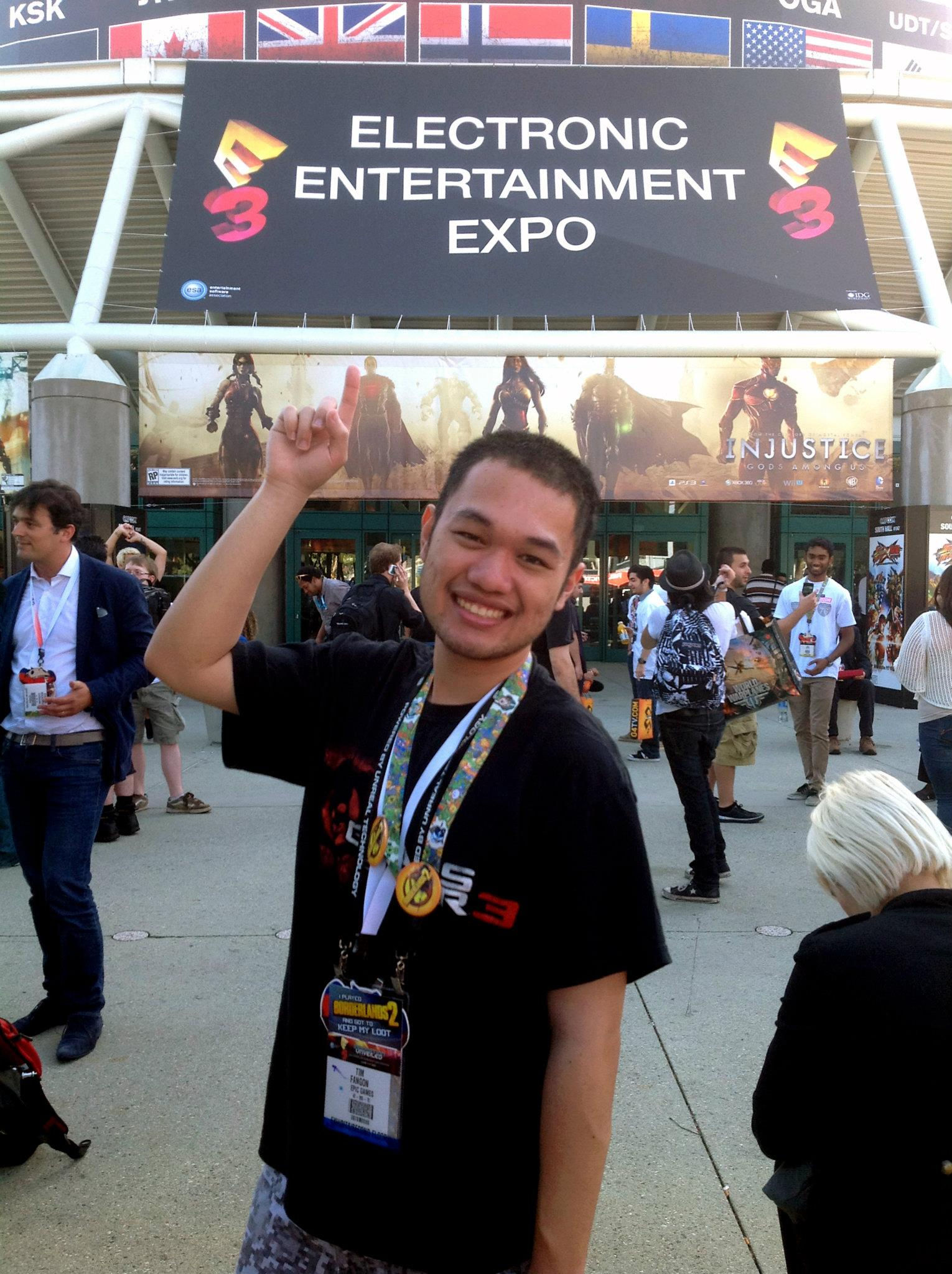 Tim Fangon E3 2012 Epic Gamer