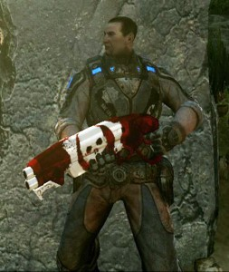 Gears of War 3 Tyranny Weapon Skin