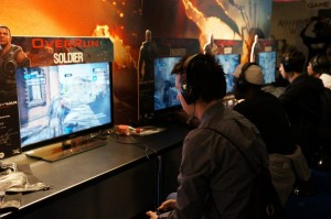 Gears Fans Playing OverRun
