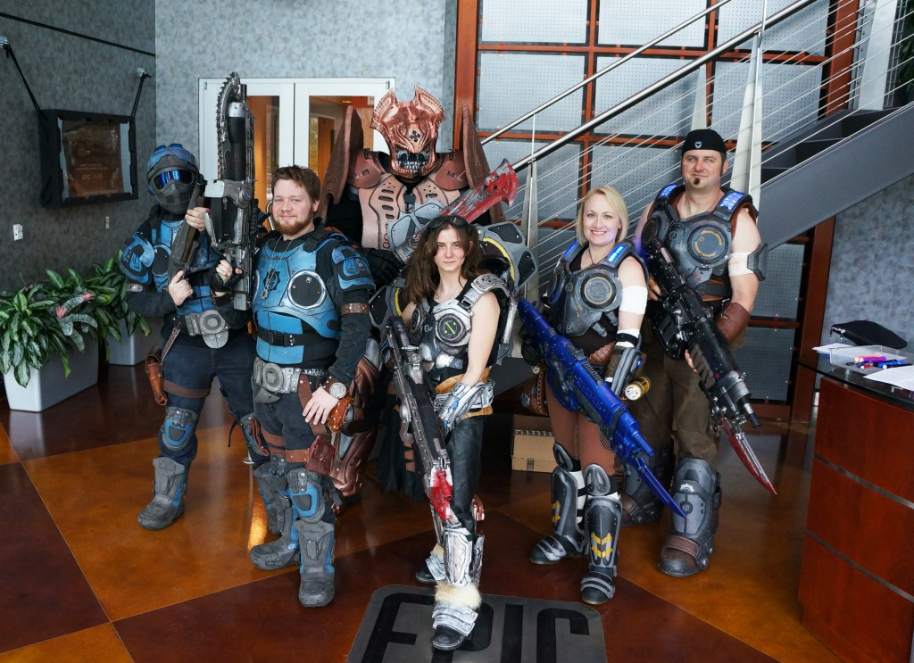 Gears of War Cosplayer Group