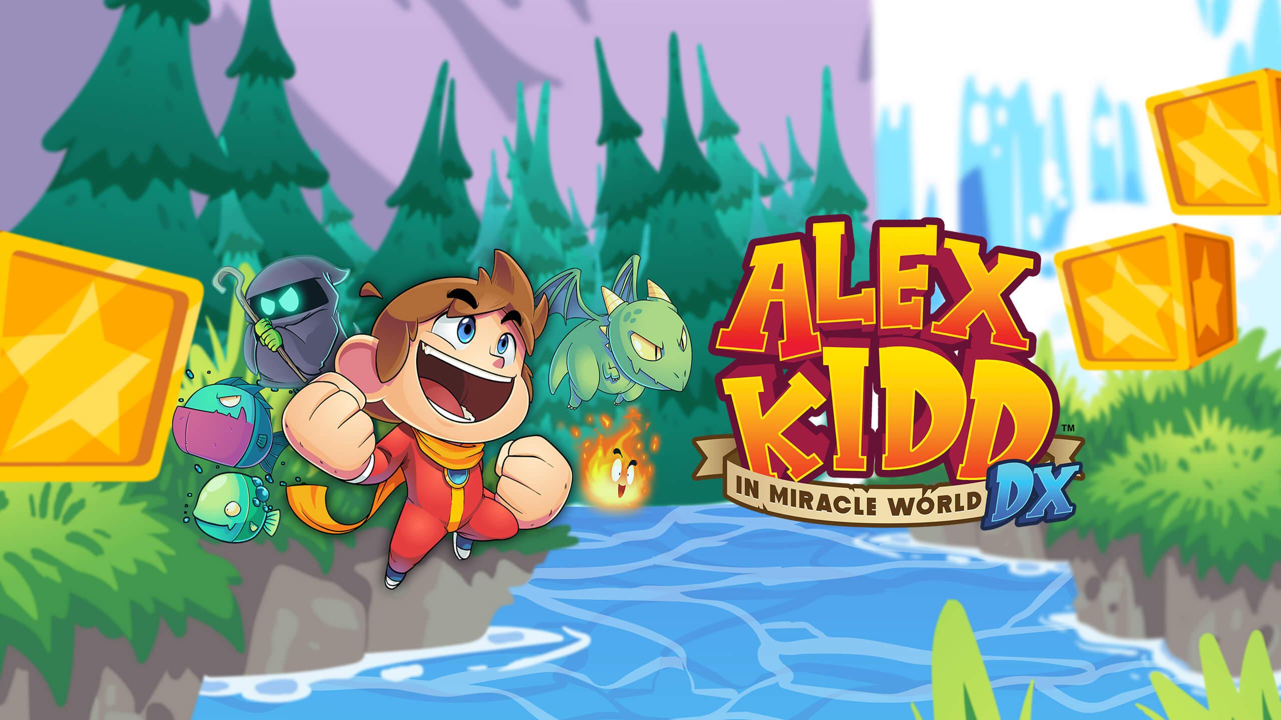 阿历克斯小子奇幻世界大冒险(Alex Kidd in Miracle World DX)插图6