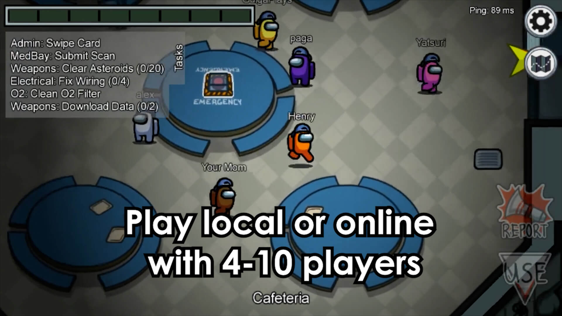 Play Among Us Online or Local