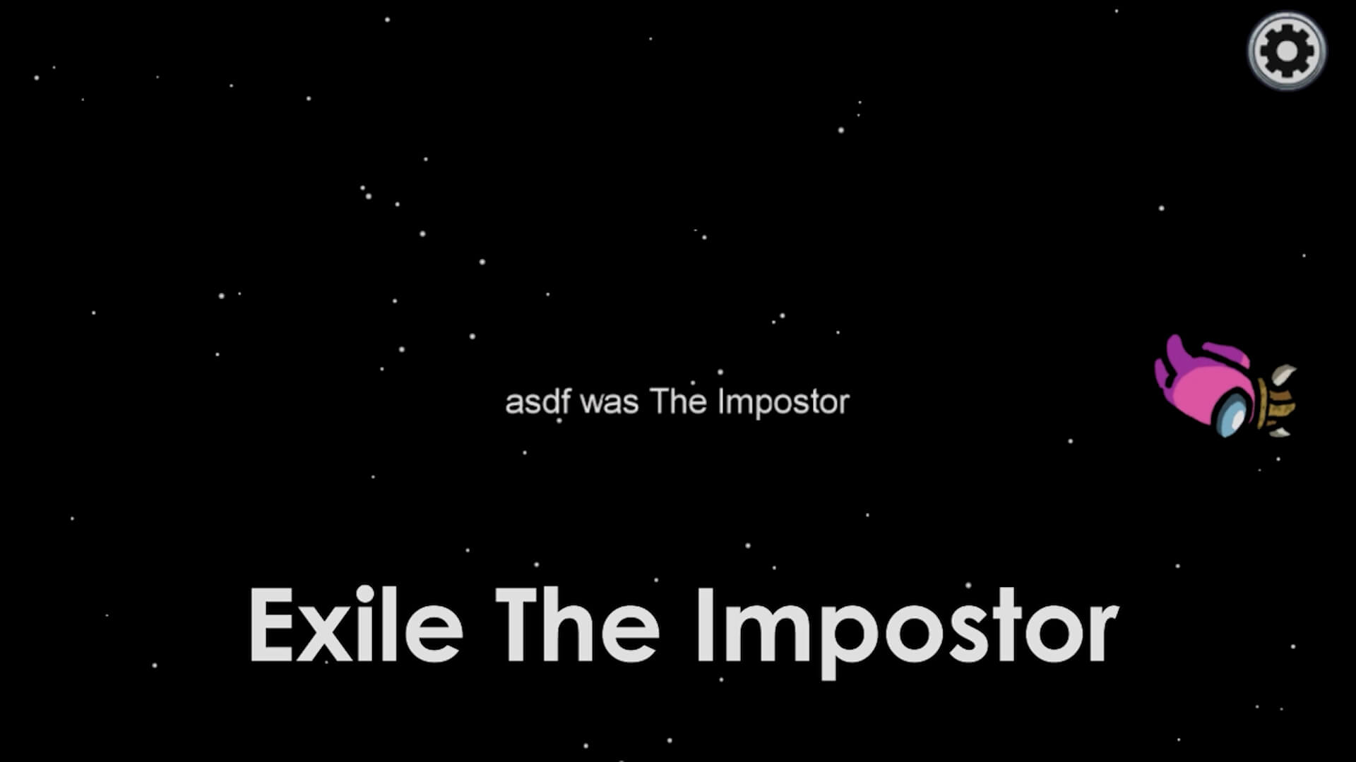 Among Us Exile the Imposter