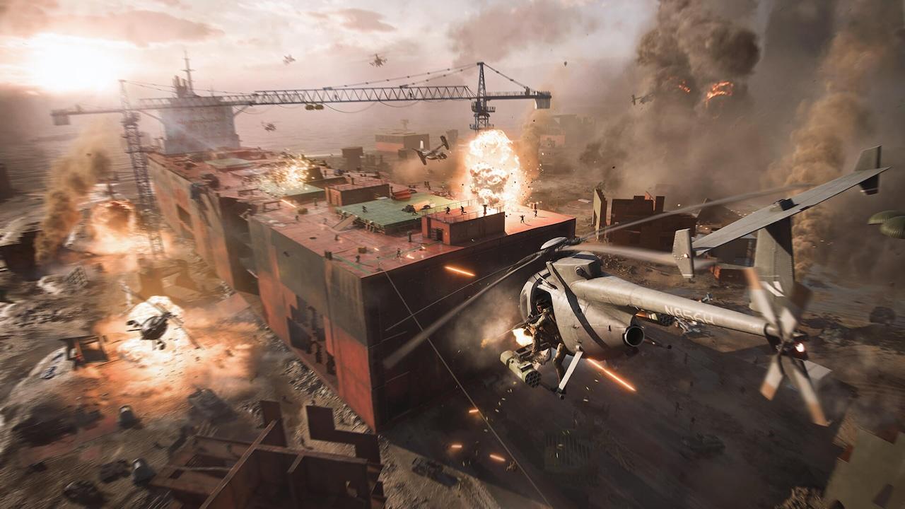 Battlefield 2042 Little Bird Helicopter