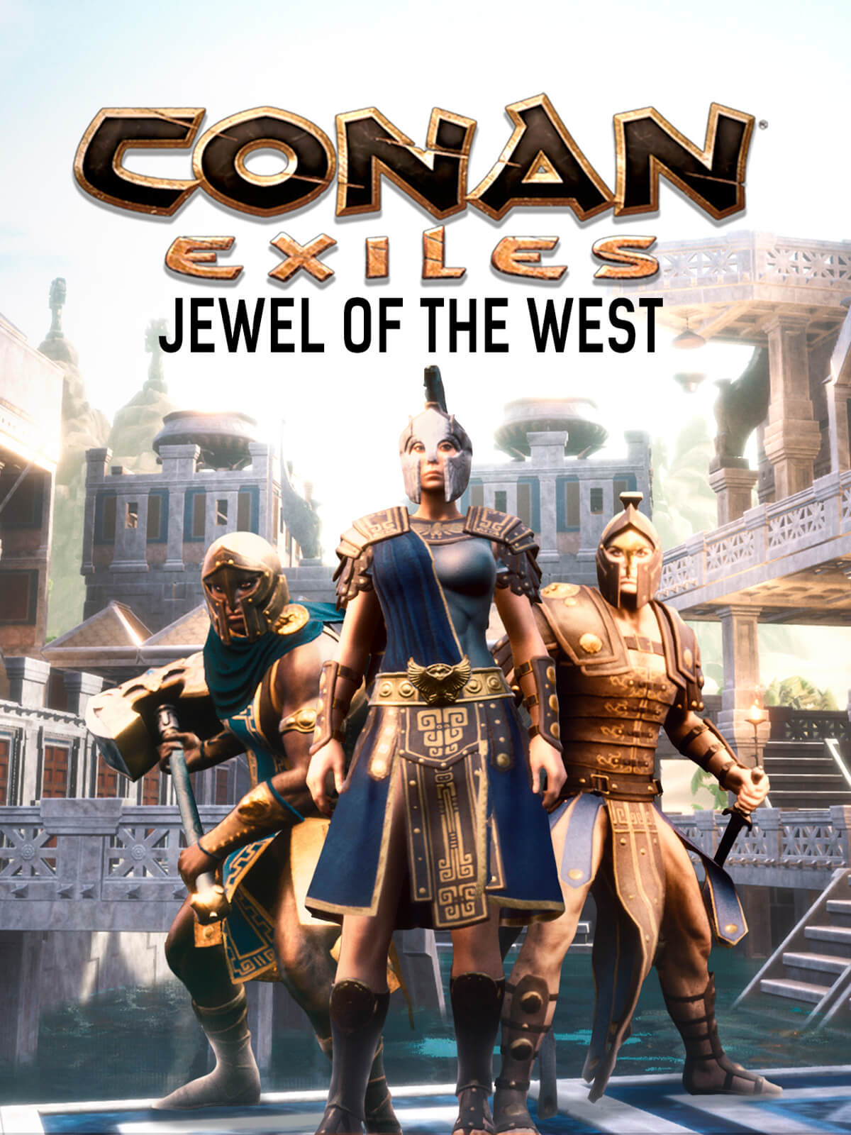 Conan Exiles Jewel Of The West Pack Contains Armor flexibility kit armor plating armor reduction kit thick armor plating thin armor plating. conan exiles jewel of the west pack