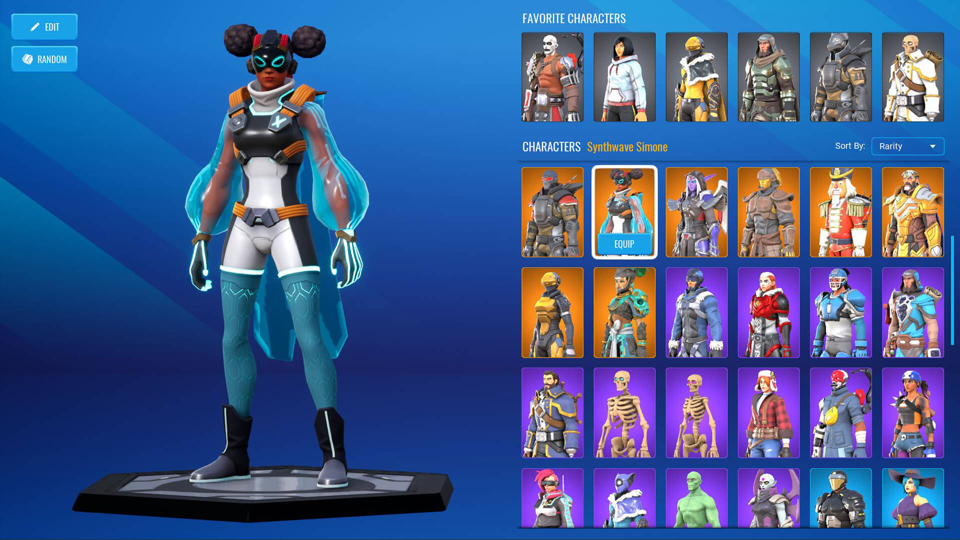 Create and customize your characters. Choose from a selection of accessories, mounts, and emotes.