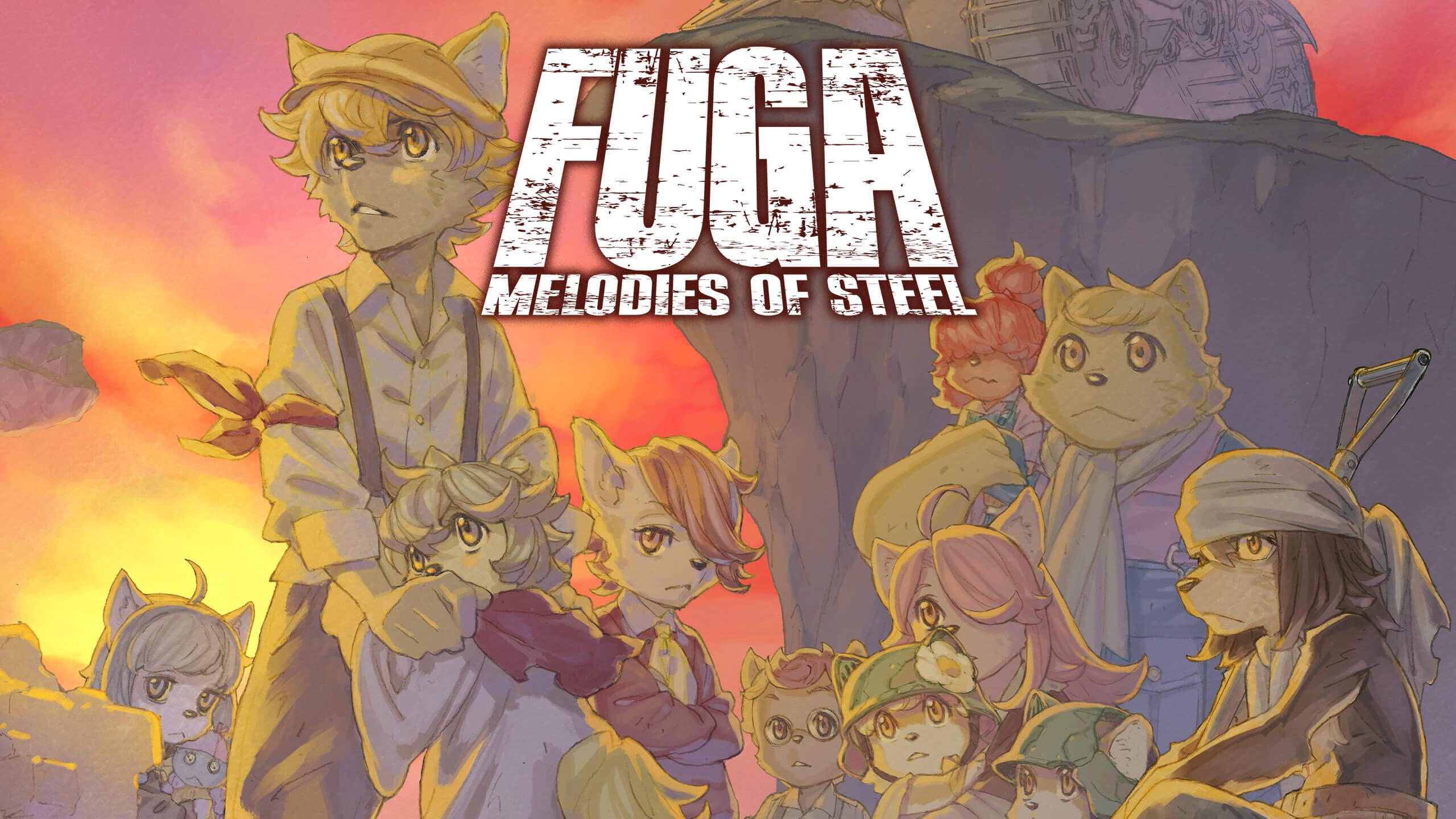 战场的赋格曲(Fuga Melodies of Steel)插图6