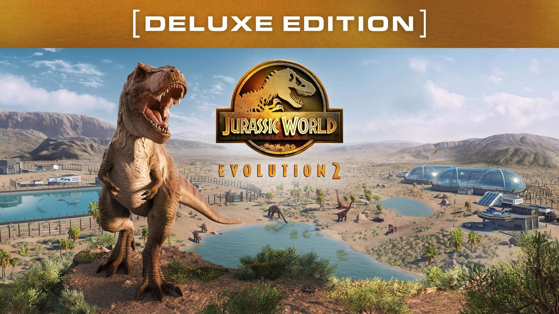 Pre-purchase Jurassic World Evolution 2 on Epic Games Store