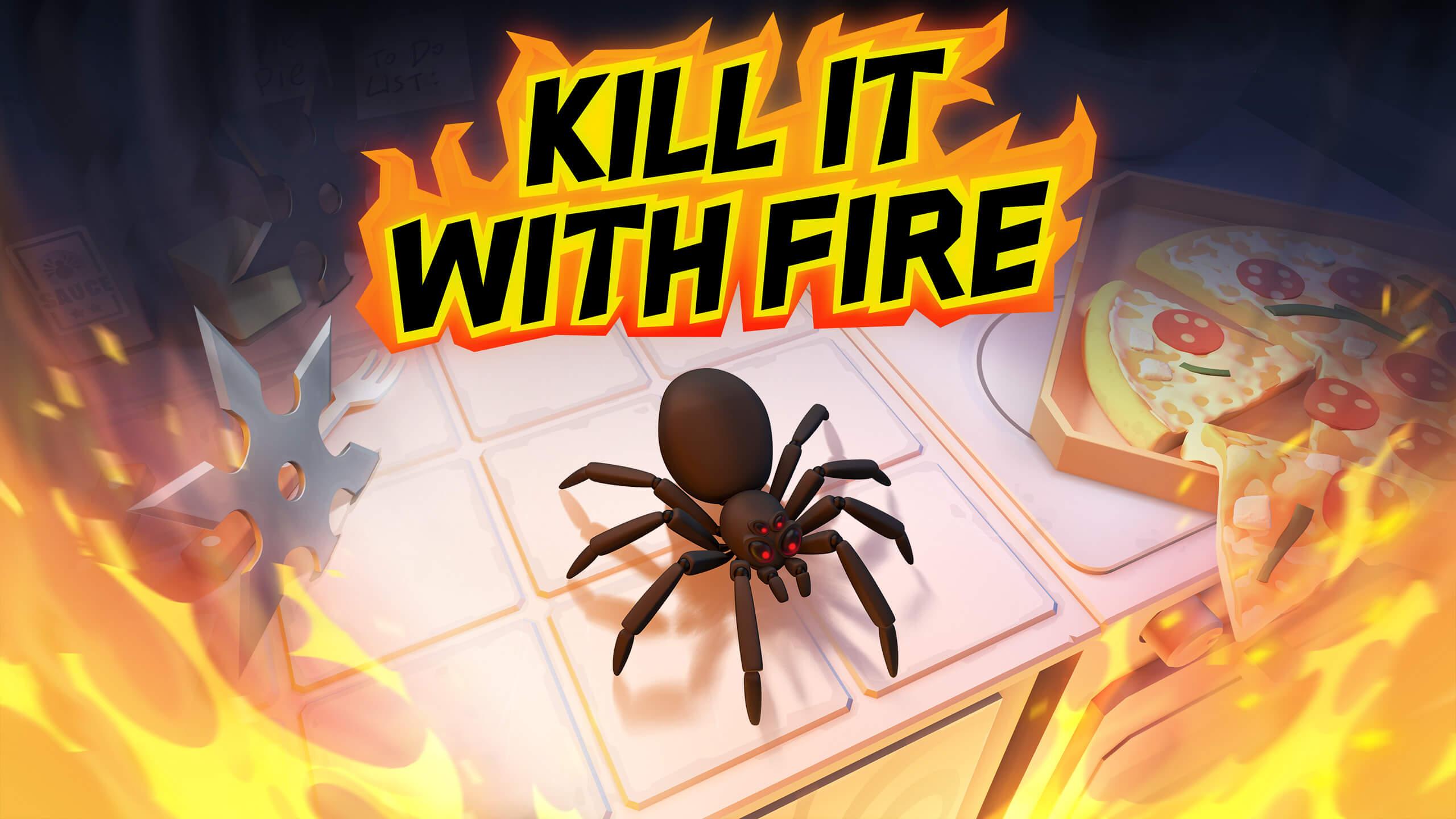 燃烧吧,蜘蛛(Kill It With Fire)插图5