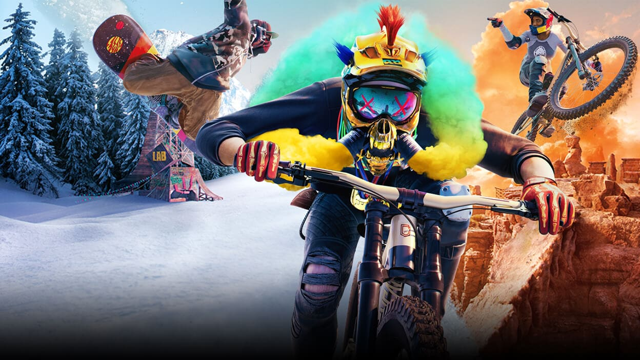Pre-purchase Riders Republic on Epic Games Store