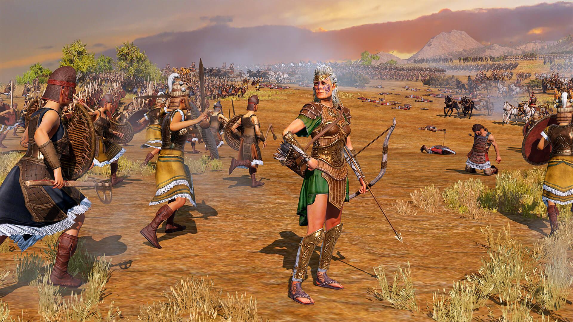 A Total War Saga: TROY - Crea y expande tu reino amazónico