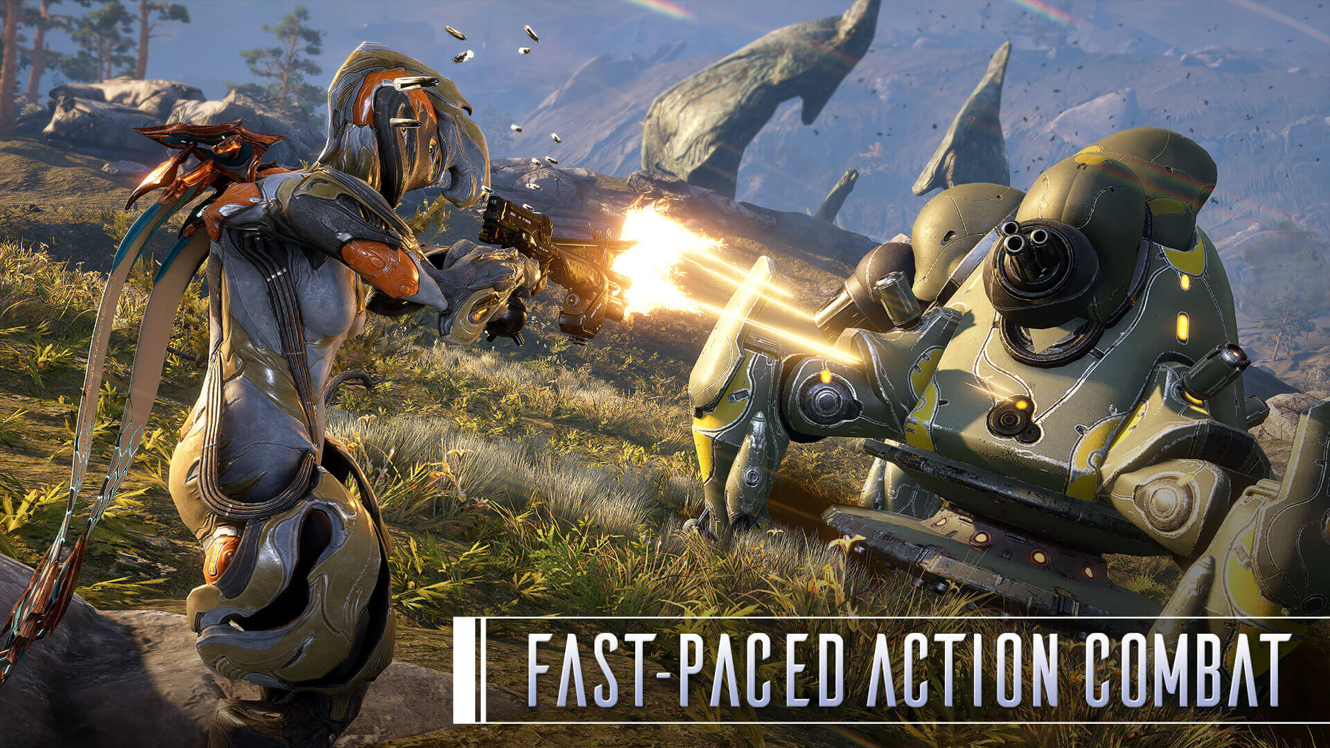 Fast-Paced Action Combat