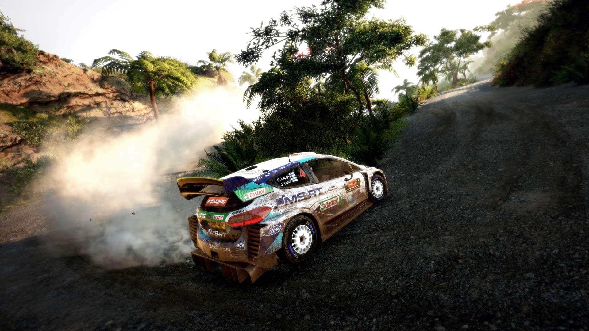 jugar las nuevas stages es el mayor atractivo de WRC 9 jugar
