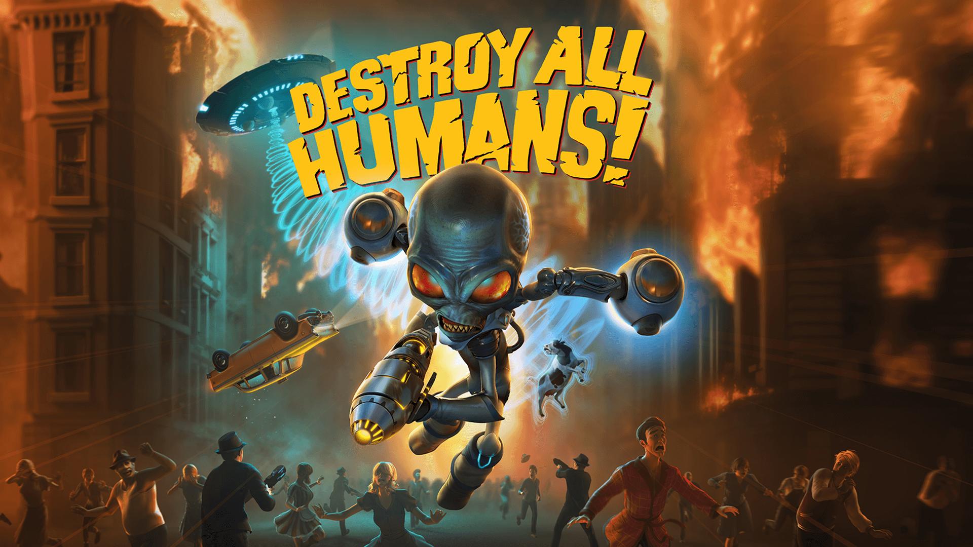毁灭全人类:法隆之路(Destroy All Humans!)插图5