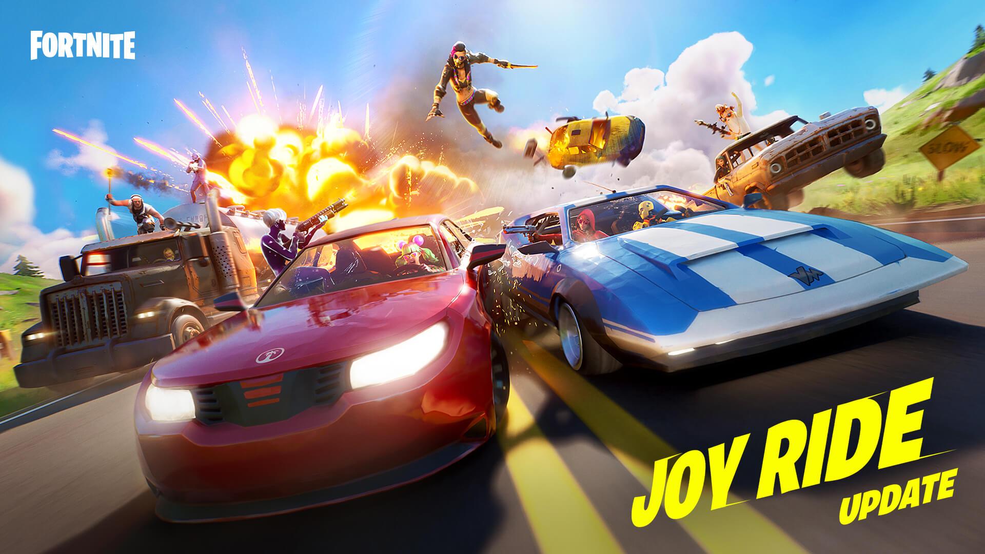 Off Road Fortnite Map Fortnite Creative V 16 20 Update Joyride Vehicles Now In Fortnite Creative