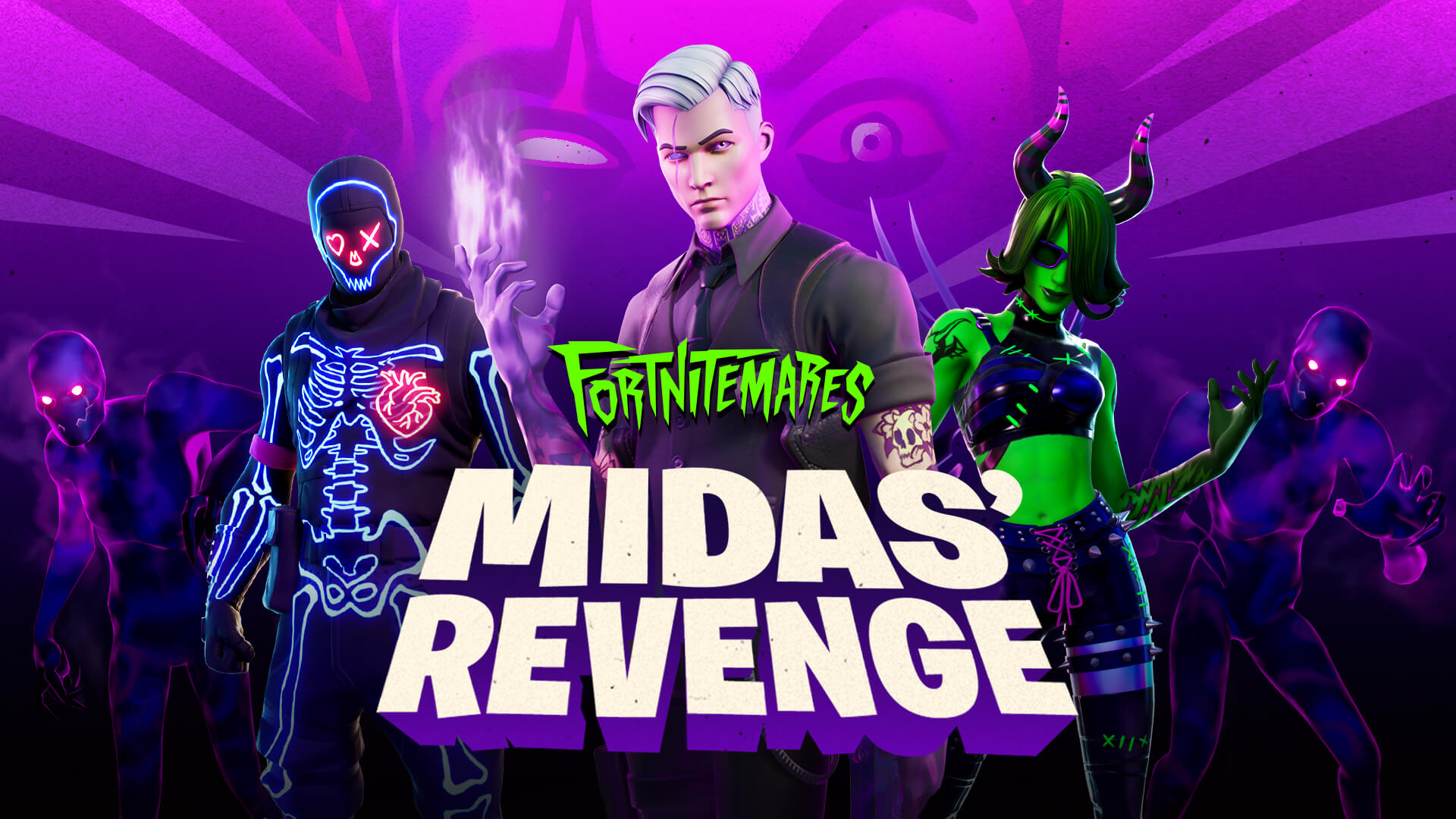 Join Shadow Midas To Get Revenge In Fortnitemares 2020