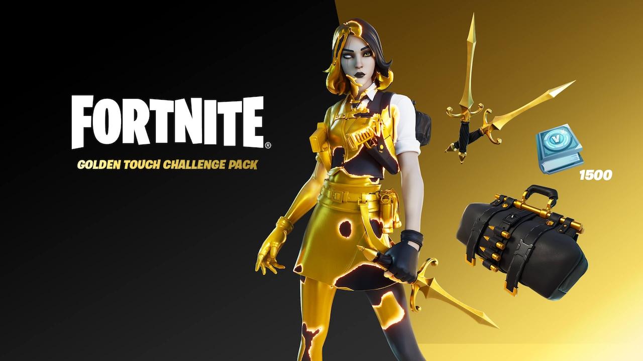 Fortnite - Golden Touch Challenge Pack