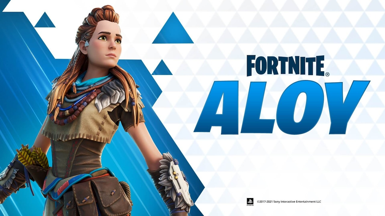 Aloy joins Fortnite
