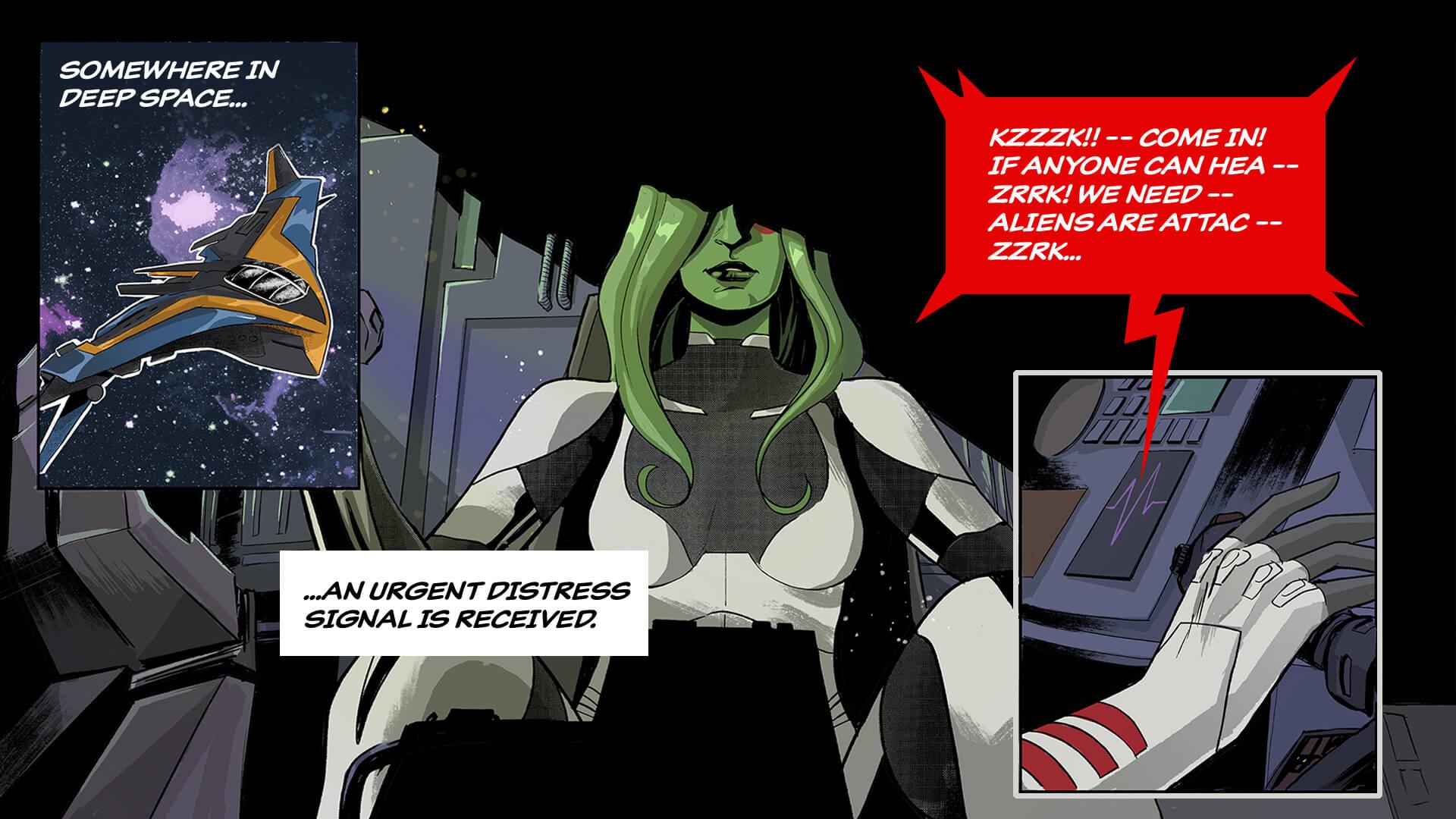 EN 17BR Gamora IllustratedMarketing Social