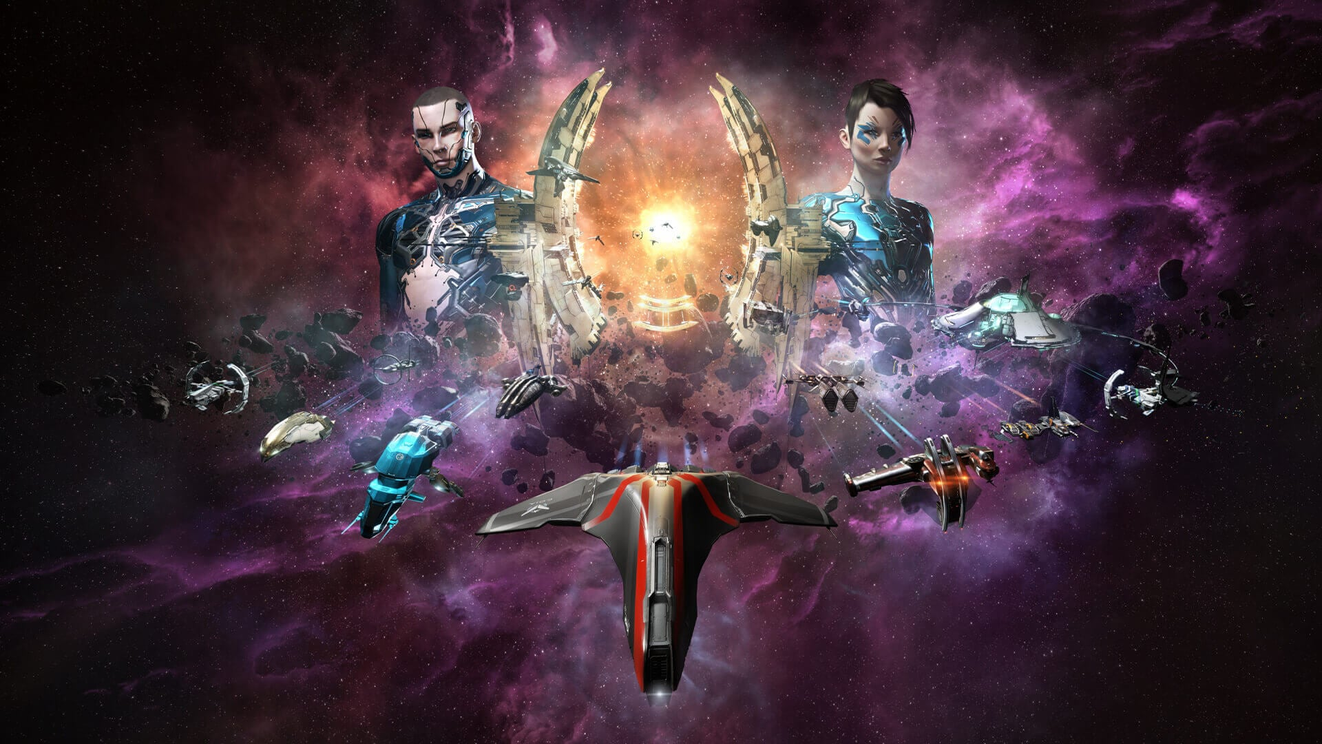 Play EVE Online on Epic Games Store