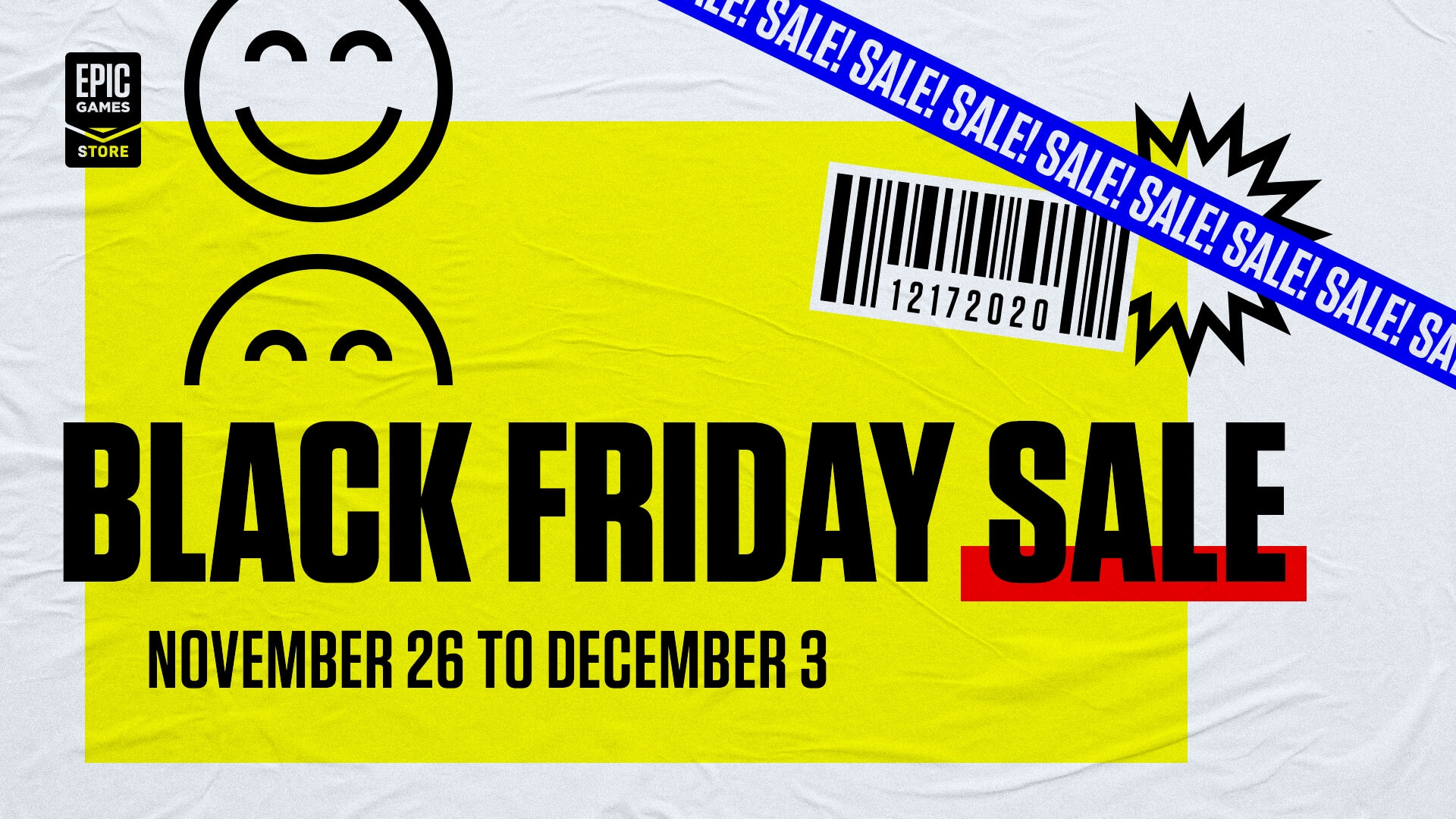 Black Friday Epic Games Store coming soon