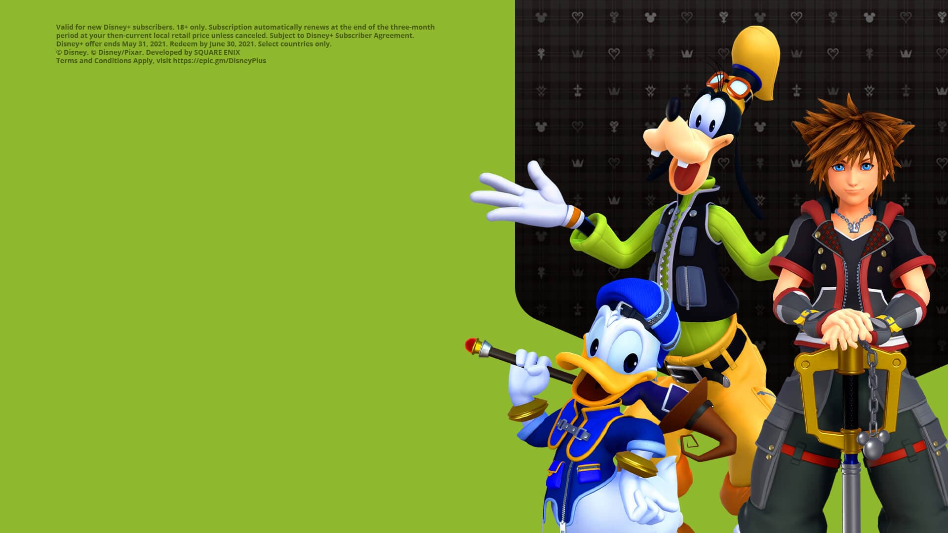 Get 3 months of Disney+ on Epic Games Store when you buy Kingdom Hearts III on PC