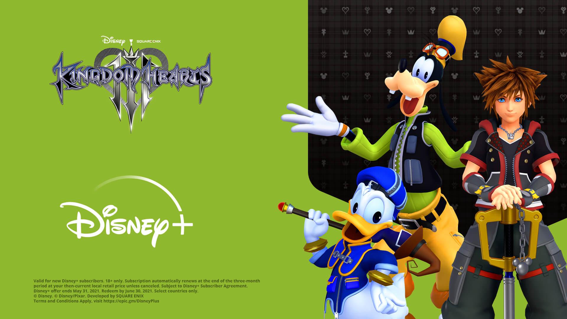 Kingdom Hearts III on Sale