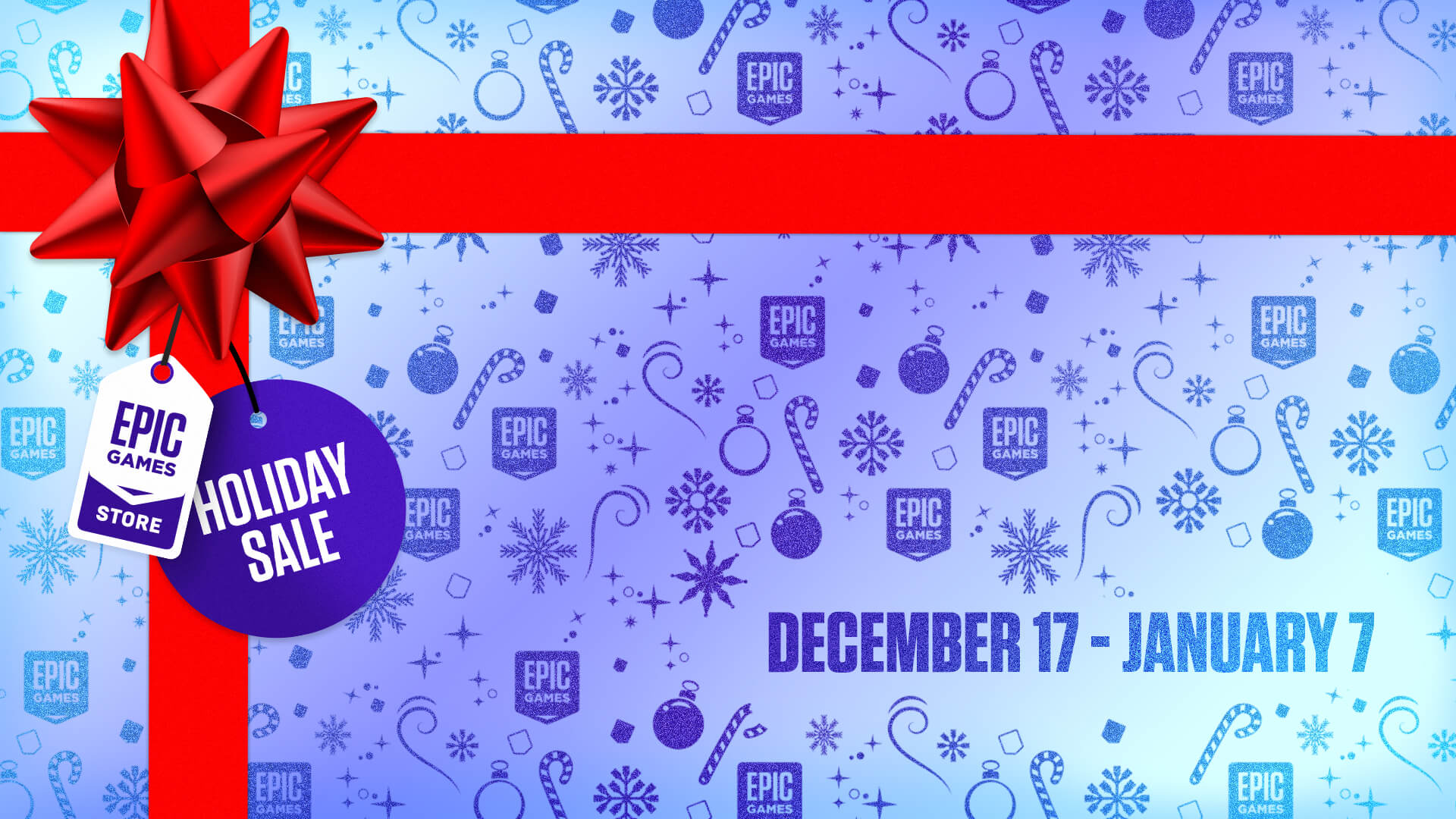 Epic Games Holiday Sale 2020